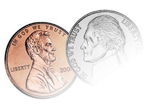 nickel penny